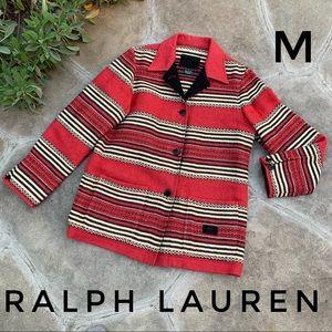 Ralph Lauren Vintage Southwest stripe barn coat